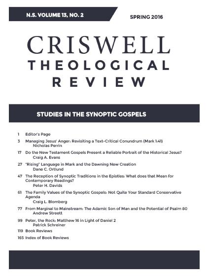 essay on the synoptic gospels